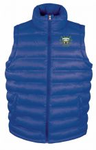 Woodvale Cricket Club Rusult Urban Ice Bird Padded Gilet Royal Blue Adults 2020